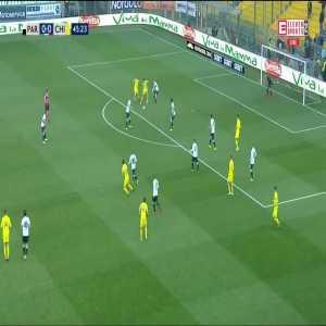 Parma 0:[1] Chievo - Mariusz Stępiński 46'