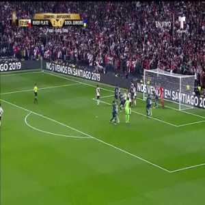 Pity Martinez (River Plate) goal vs. Boca Juniors ([3]-1) ([5]-3 on aggregate)