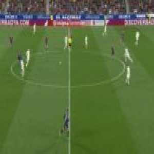 Sergio Ramos's nice tackle and interception vs Huesca