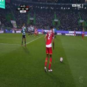 Sporting 0-1 Aves - Rodrigo Defendi 17'