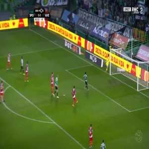 Sporting [2]-1 Aves - Nani 45'+1'
