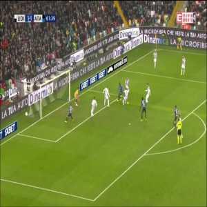 Udinese 1:[2] Atalanta - Duvan Zapara 62'