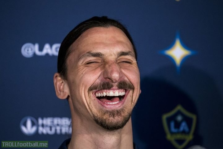"Zlatan Ibrahimovic on Luka Modric winning the Ballon d'Or:  ""Now we know it was Perez who was competing with Messi on Ballon d'Ors, not Ronaldo,"""
