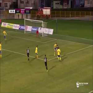 Bruno Petković once again scored an overhead goal (second time this season)