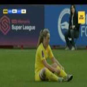 Erin Cuthbert gives Brighton defender an early retirement