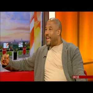 John Barnes' fantastic interview on BBC breakfast talking about Raheem Sterling and racism in football and society.
