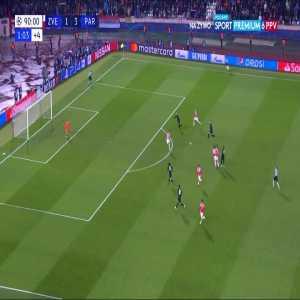 FK Crvena zvezda 1:[4] Paris Saint-Germain - Kylian Mbappé 90+2'