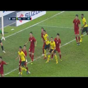 Saad goal AFF Cup : Malaysia [1] - 2 Vietnam
