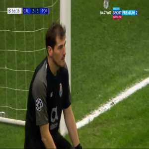 Sofiane Feghouli (Galatasaray AŞ) penalty miss. vs FC Porto