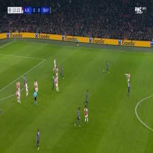 Ajax 0-1 Bayern - Robert Lewandowski 13'