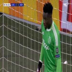 Ajax 2-[2] Bayern - Robert Lewandowski penalty 87'