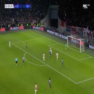 Ajax 2-[3] Bayern - Kingsley Coman 90'