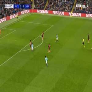 Manchester City [2]-1 Hoffenheim - Leroy Sané 61'