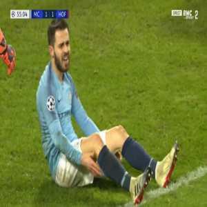 Manchester City 3v2 chance against Hoffenheim 55'