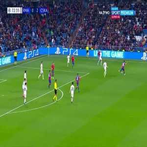 Real Madrid CF 0:[3] PFC CSKA Moskva - Arnór Sigurðsson 73'