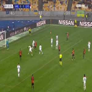 Shakhtar 1-0 Lyon - Junior Moraes 22'