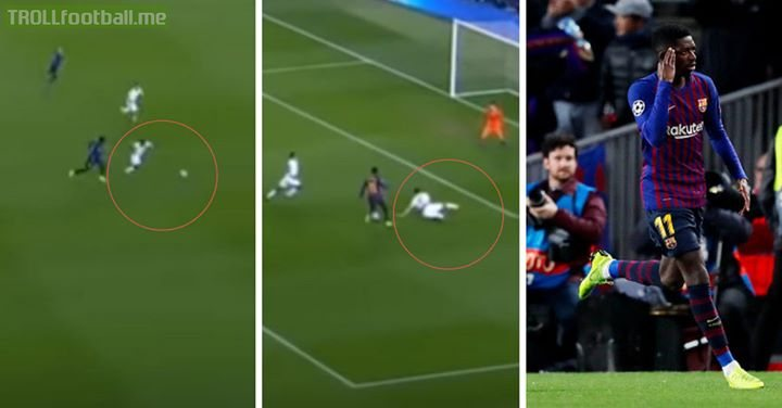 Similar scenes as to when Messi destroyed Boateng and Neuer. This is why he's worth his price tag. Great Golazo. SoloGoal