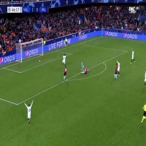 Valencia 2-0 Manchester United - Phil Jones OG 47'