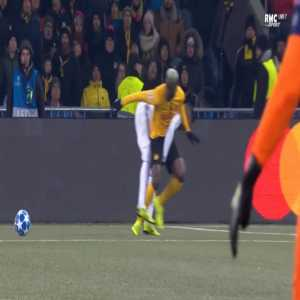 Young Boys 1-0 Juventus - Guillaume Hoarau penalty 30'