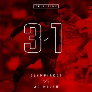 AC Milan fail to qualify for UEL Round of 32.