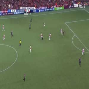 Atletico-PR 1-0 Junior [2-1 on agg.] - Pablo 27'