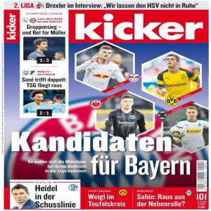 Bayern are interested in Thorgan Hazard [Kicker]. BMG wishes to renew his contract which runs out in 2020. [Kristof Terreur]