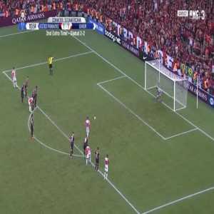 Jarlan Barrera (Junior) penalty miss against Atletico-PR 111'