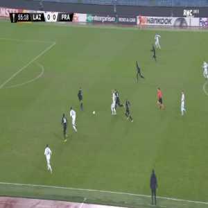 Lazio 1-0 Frankfurt - Joaquin Correa 56'