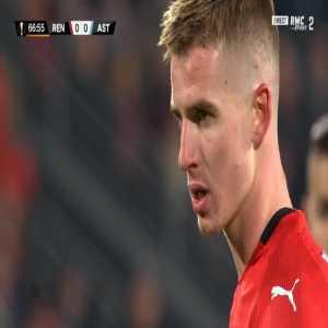 Rennes 1-0 FC Astana - Ismaila Sarr 68'