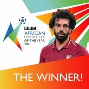 Mo Salah is this year's BBC African Player of the year