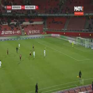 Nurnberg 0-2 Wolfsburg - Josip Brekalo 90'+3'
