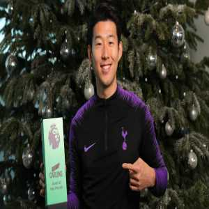Son Heung-Min wins the Premier League Goal of the Month award for Novermber