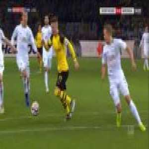 Borussia Dortmund penalty appeal vs Werder Bremen 11' (Klaassen vs Reus)