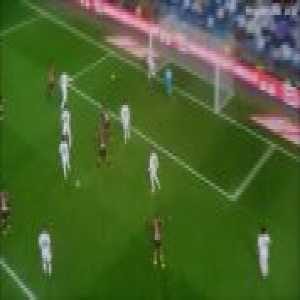 Courtois late double save [Real Madrid vs Rayo Vallecano]