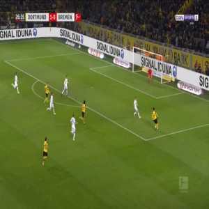 Dortmund 2-0 Bremen - Marco Reus 27'