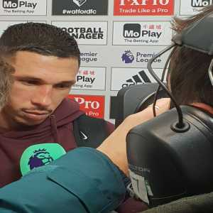 "Jose Holebas: ""I'm not happy. 3-2 when you're 3-0 up at home - that should not happen. I don't care if the goals are great or shit, it's unacceptable. I'd rather win 1-0 and keep the clean sheet. We need to learn from these mistakes."""