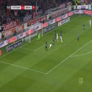 Stuttgart [2]-1 Hertha - Mario Gomez 76'