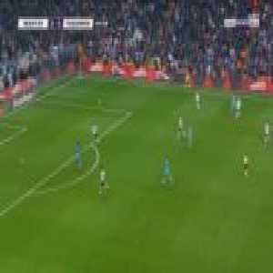 Besiktas 0-1 Trabzonspor - Hugo Rodallega 45'+1'