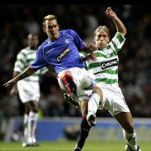 "Fernando Ricksen: ""I'd like to thank the world's best supporters - yep, that's Rangers AND Celtic - for supporting me. It's fantastic to know that you are united while I am fighting MND. You are both great, but together you are even greater. I feel very proud."""