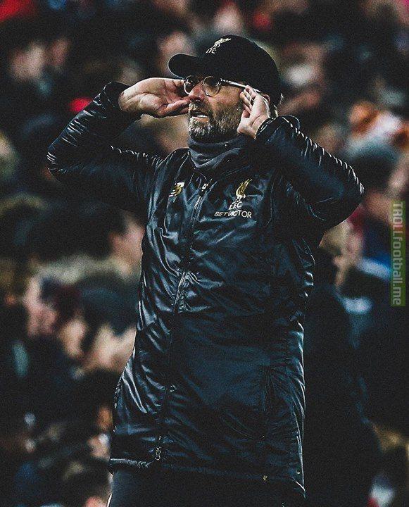 Klopp this month:  Brings Origi on vs Everton, scores 5 minutes later.  Brings Firmino on vs Burnley, scores 5 minutes later.  Brings Shaqiri on vs Man United, scores 5 minutes later.   Simply Klopp!👐🔥