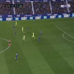 Levante 0-3 Barcelona - Lionel Messi 47'