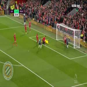 Liverpool 1-[1] Manchester United : Lingard 33'