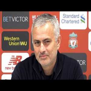 Liverpool 3-1 Manchester United - Jose Mourinho Full Post Match Press Conference - Premier League