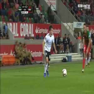 Maritimo 0-1 Benfica - Jonas penalty 45'+2'