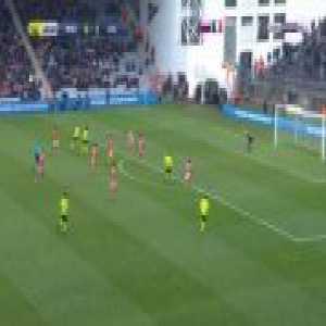 Nimes 0-2 Lille - Jonathan Bamba 41'
