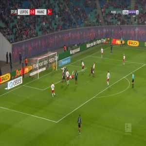 RB Leipzig 2-[1] Mainz - Karim Onisiwo 38'
