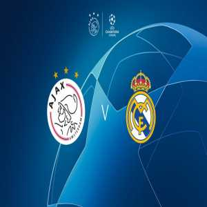 Ajax draw Real Madrid in the 1/8 final of the Champions League