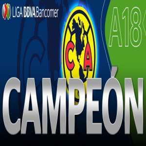 América are the 2018 Apertura Liga MX Champions