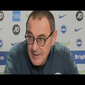 Brighton 1-2 Chelsea | Maurizio Sarri | Full Post Match Post Match Conference | Premier League