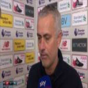 José Mourinho's post-match interview with Sky Sports after 1-3 loss vs. Liverpool